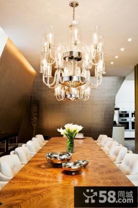 餐厅水晶吊顶灯