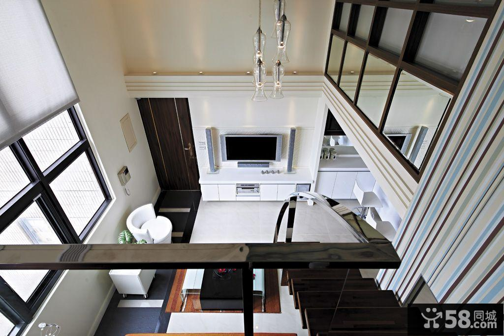 复式楼阁楼装修设计图展示