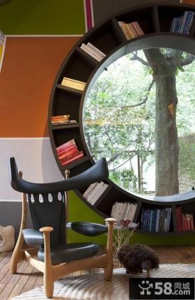 两室两厅创意书房装修效果图大全2014图片