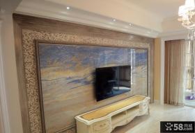 现代马赛克瓷砖背景墙