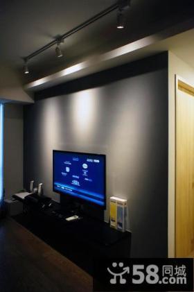 现代风格室内电视背景墙图大全欣赏