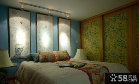 田园风格复式装修卧室设计