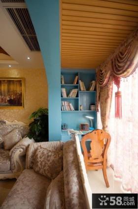 地中海家居客厅窄阳台装修效果图