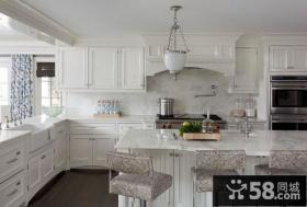 轻盈优雅的复式楼厨房装修效果图大全2012图片