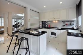 欧式风格复式楼厨房设计