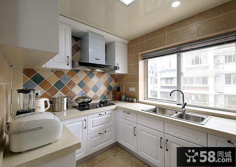 5平米简美式厨房装修
