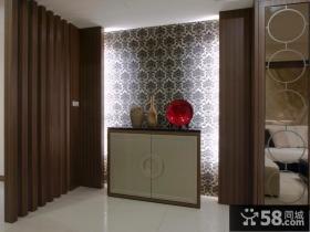 现代典雅风格三室一厅装修效果图