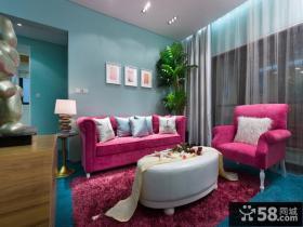 家装客厅沙发背景墙装饰画