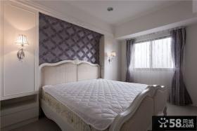简欧风格室内卧室设计装修图片