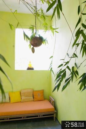 室内阳台装修效果图 客厅阳台装修设计图片