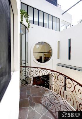 复式小阳台装修效果图大全2013图片