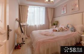 10平米温馨女生卧室装修效果图