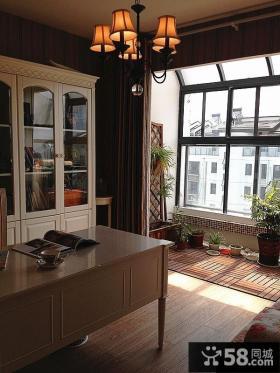 阳台书房装修效果图大全2013