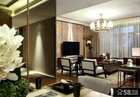 新中式客厅吊顶设计效果图