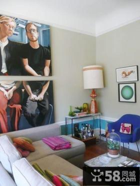现代时尚风格室内设计效果图