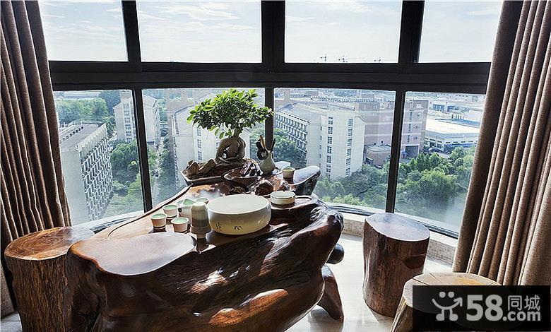 新中式阳台装修效果图图片