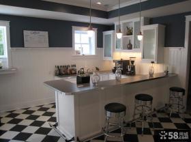 欧式家居厨房整体橱柜装修图片