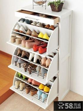玄关鞋柜设计效果图