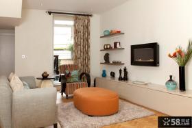 现代风格简单电视背景墙装修效果图大全