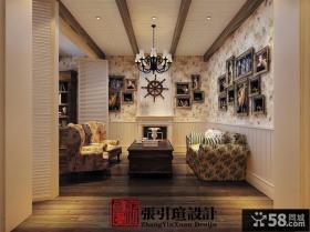 古典美的欧式风格客厅吊顶装修效果图大全2012图片