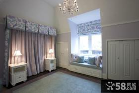 四室两厅装修效果图 四室两厅装修样板房卧室阳台