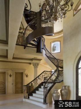 欧式风格别墅楼梯设计