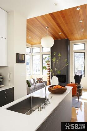 欧式小厨房装修效果图大全2012图片