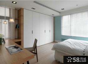 现代设计室内卧室衣柜效果图大全