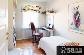 116平米阳光公寓 复式楼书房装修效果图大全2012图片