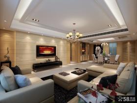 现代客厅背景墙装饰设计图片