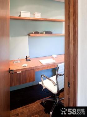 美式风格设计书房图片大全
