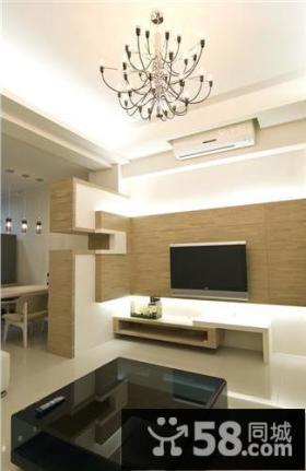 现代简约家居装修二居室设计