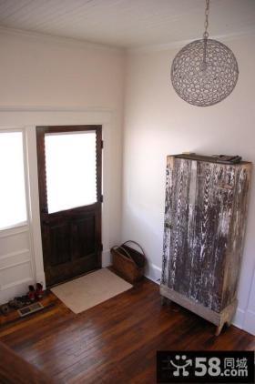 进门客厅玄关装修效果图