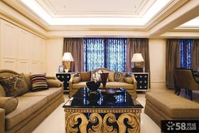 欧式风格客厅装修图大全