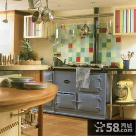 复式楼创意厨房装修效果图大全