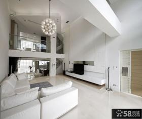 现代极简别墅室内装修效果图