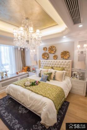 新古典风格别墅卧室装饰设计效果图