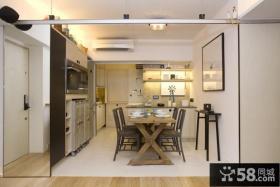 简约家居餐厅厨房整体装修设计