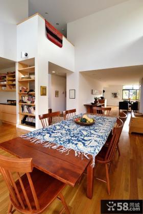 客厅餐厅一体设计