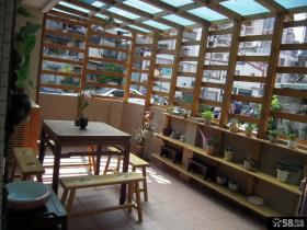 温馨宜家装修风格阳台设计