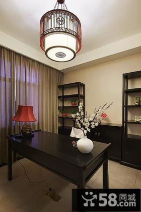 新古典中式书房装潢