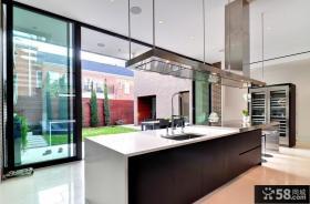 现代简约风格装修 厨房吧台装修