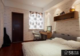 现代家居风格卧室装修图