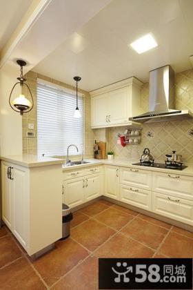 都市美式混搭厨房装修案例
