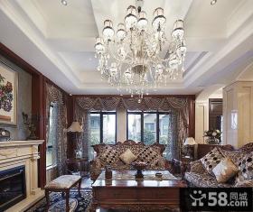 古典奢华欧式家装别墅装饰设计