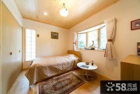 日式家装小空间卧室效果图