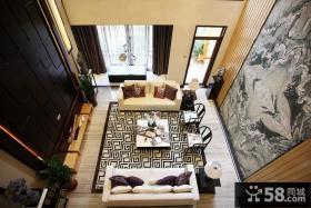 中式风格豪华别墅室内装修图片大全