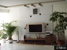 小面积客厅电视背景墙