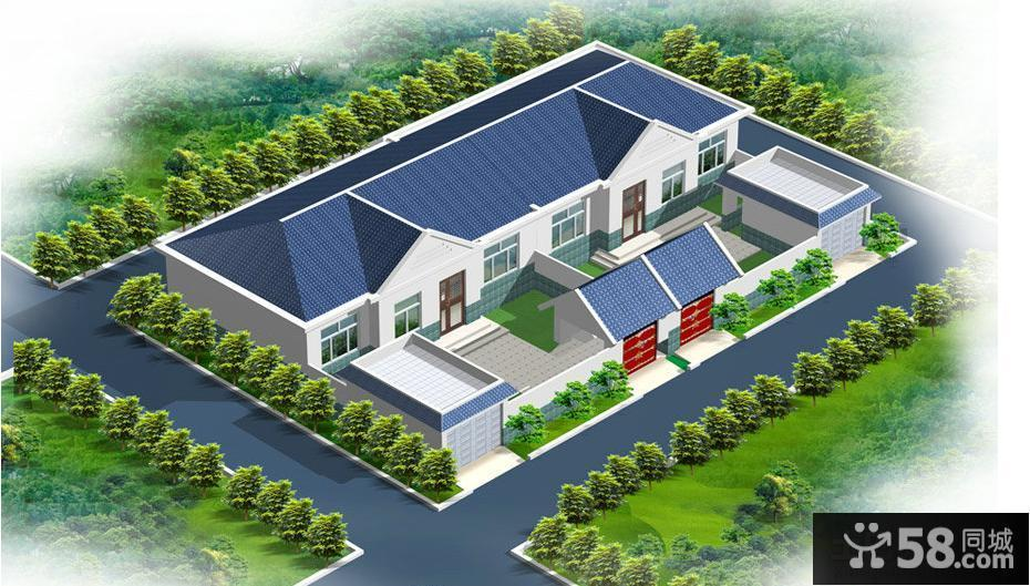 【农村房屋设计效果图】 - 58同城装修效果图大全
