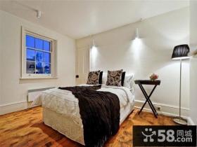 简约清新的美式风格卧室装修效果图大全2012图片